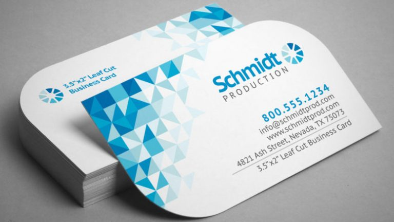 500 business cards single sided round corners  express